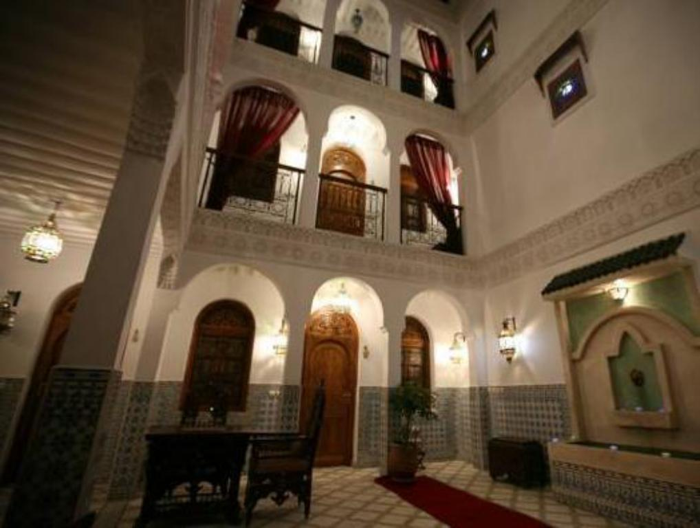 Interior view Riad Mouna
