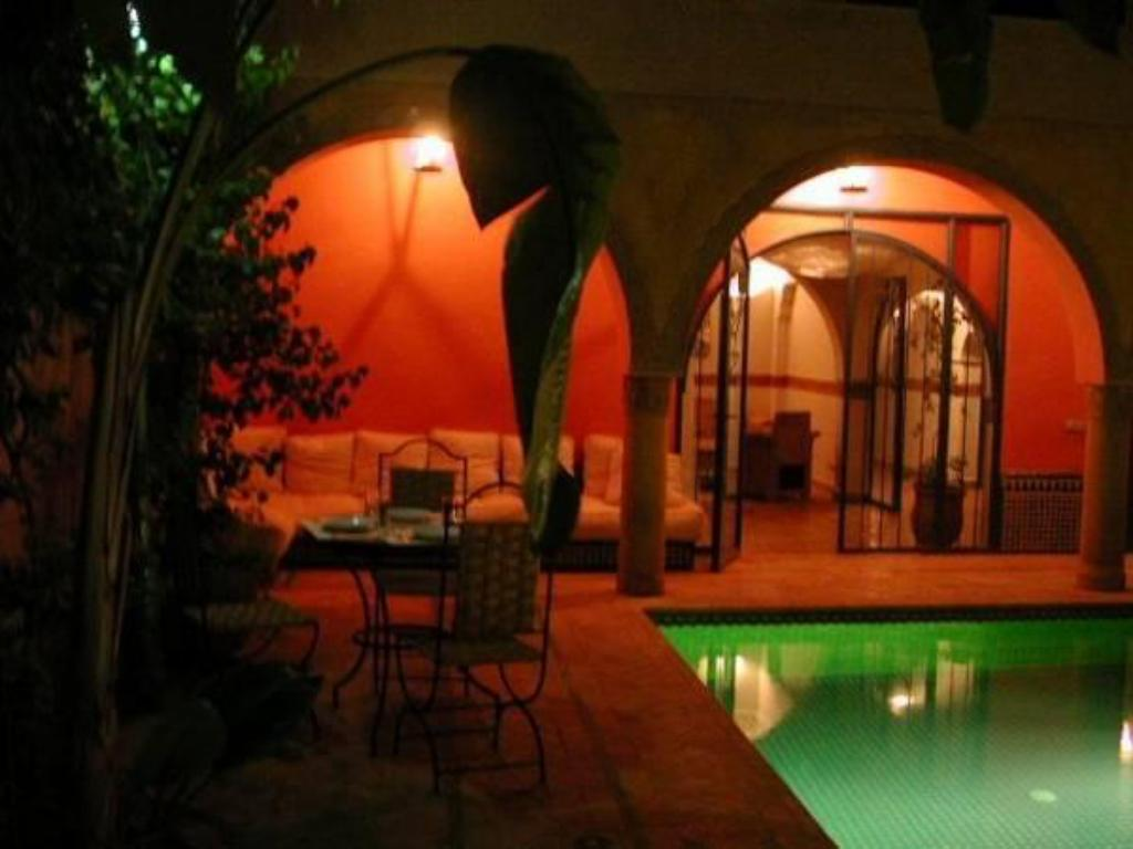 Swimming pool Riad Villa Bleue