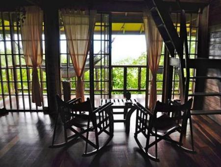 Interior view Samasati Yoga & Wellness Retreat