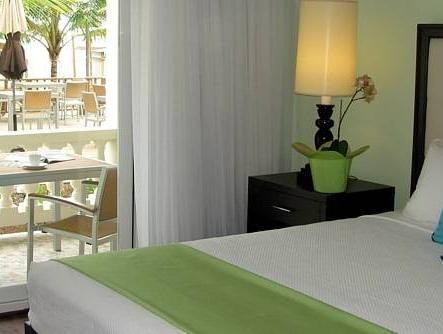 Juniorsuite med kingsize-seng og havudsigt (King Junior Suite with Ocean View)