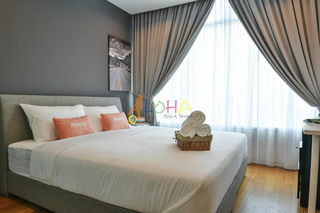 Bed Vortex KLCC By Aloha Homes 2br2b for 6pax - #1