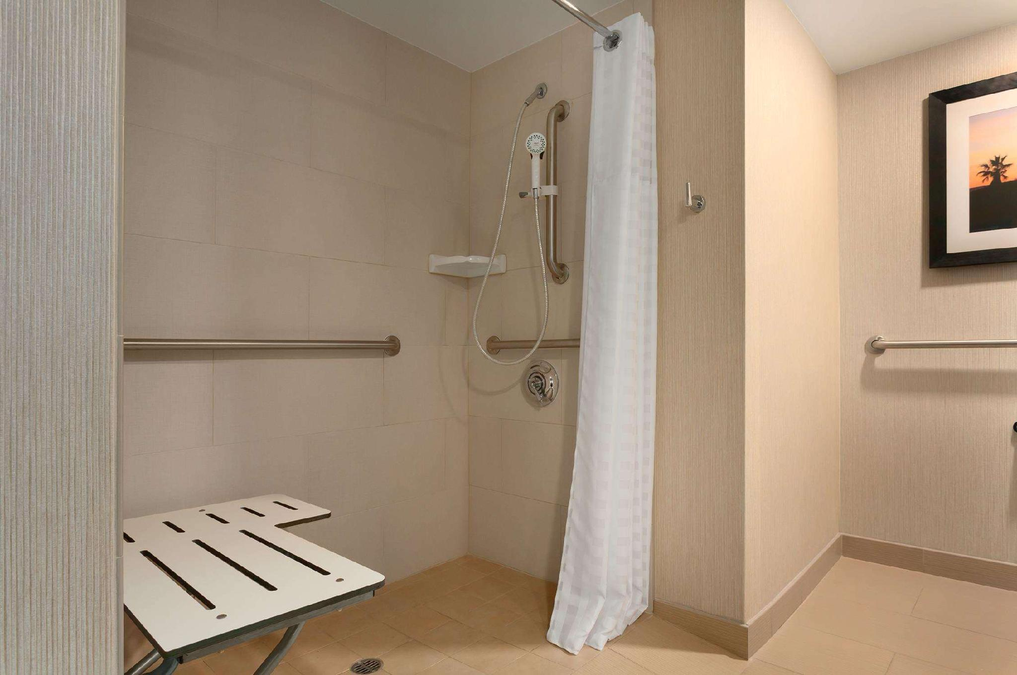 1 King Ocean View Accessible Roll in Shower