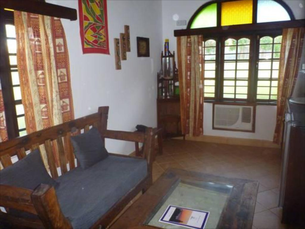 Interior view Mnarani Beach Cottages