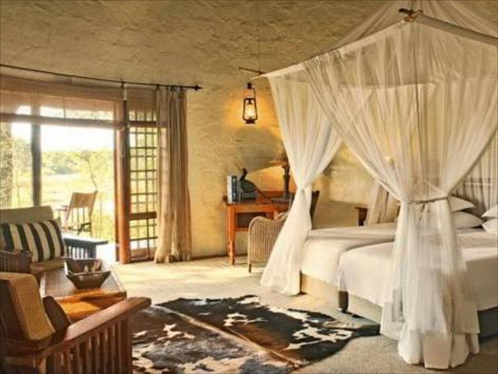 Bungalow luxuoso - Quarto de hóspedes Motswari Private Game Reserve Resort