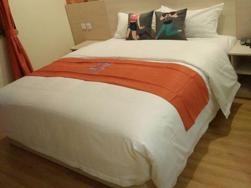 1 Queen Bed Room - Bed Pai Hotel Beijing Qinghe Yongtai Zhuang Subway Station