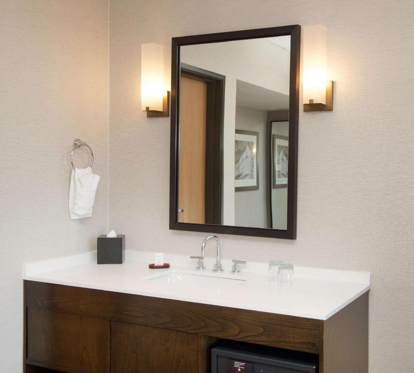 1 King Suite Mobility Accessible Tub - Guestroom