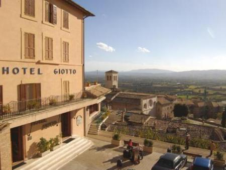 Exterior view Giotto Hotel & Spa