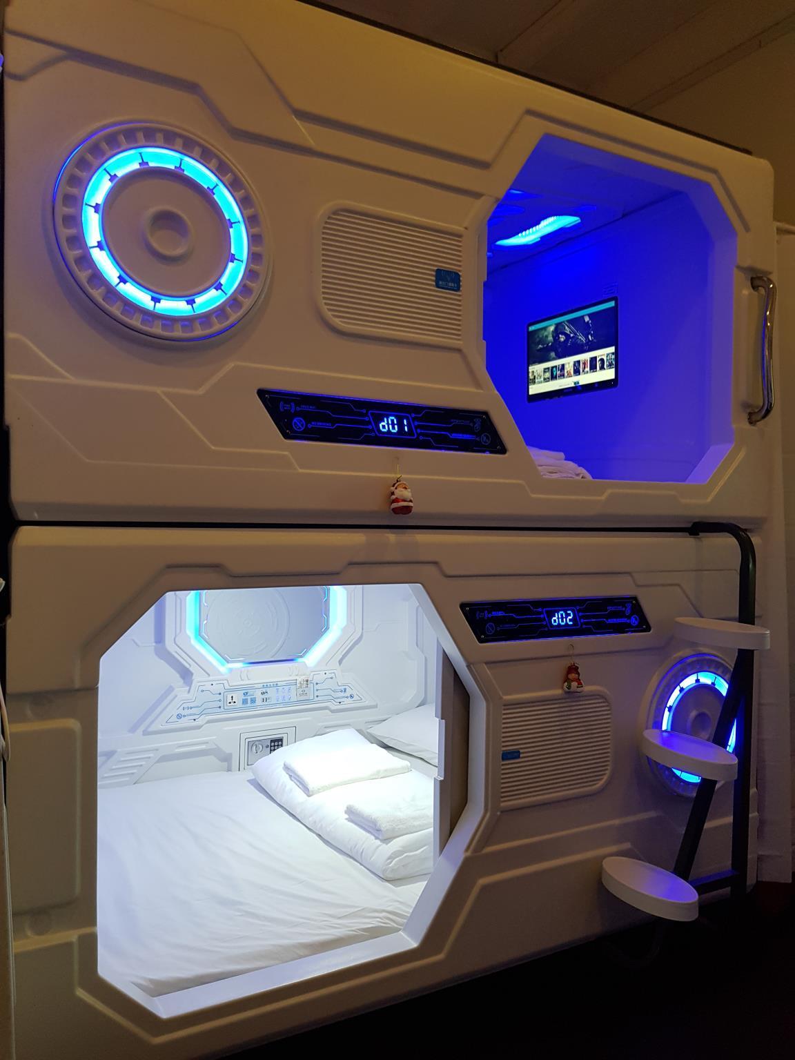 Galaxy Pods @ Chinatown Hotel (Singapore) - Deals, Photos
