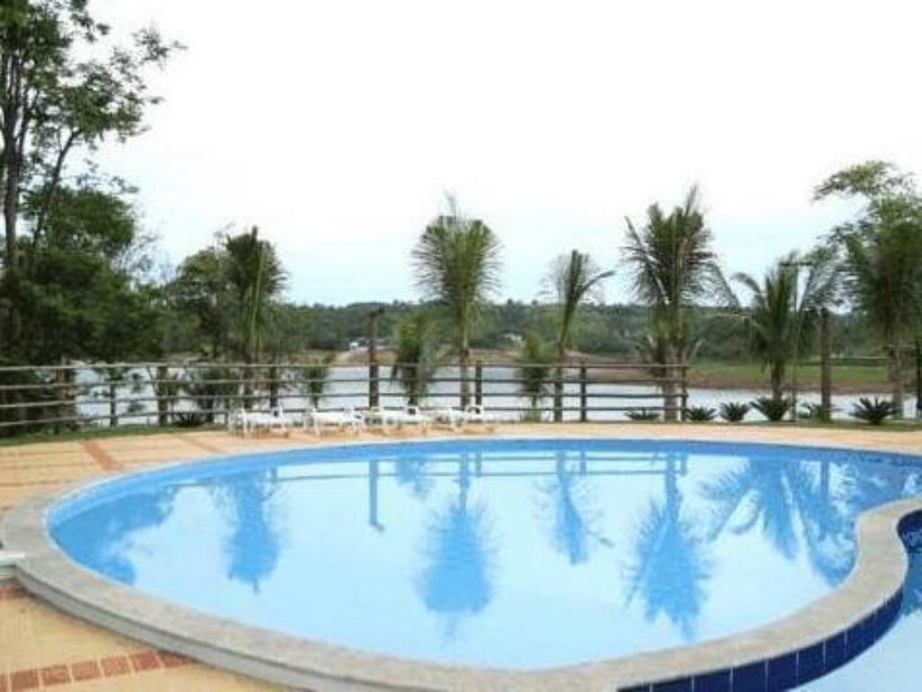 游泳池 Apartamento Pontal do Lago