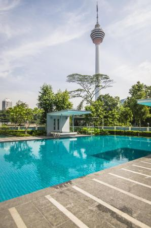 Swimming pool [outdoor] AirPorter Bukit Bintang Residence