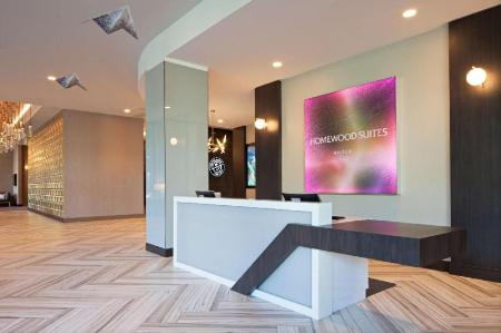 Lobby Homewood Suites By Hilton Los Angeles Intl Airport