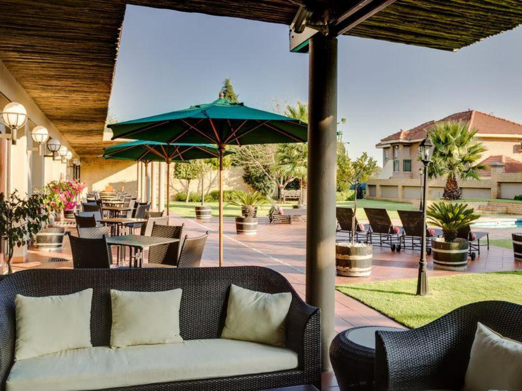 Balcony/terrace Fortis Hotel Witbank