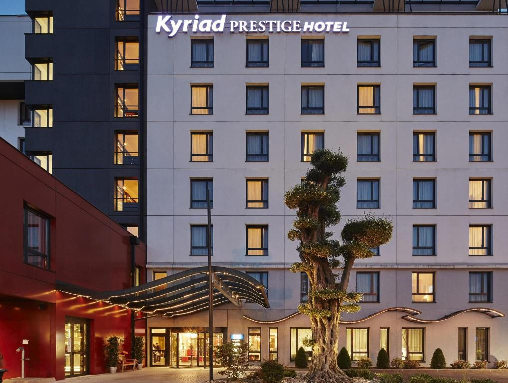 Kyriad Prestige Lyon Est Saint Priest Eurexpo Hotel And Spa