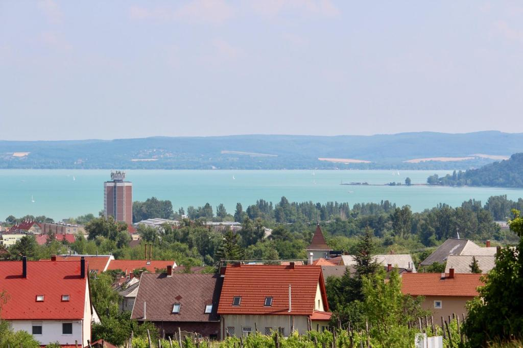 View Balatonfured property with fantastic views
