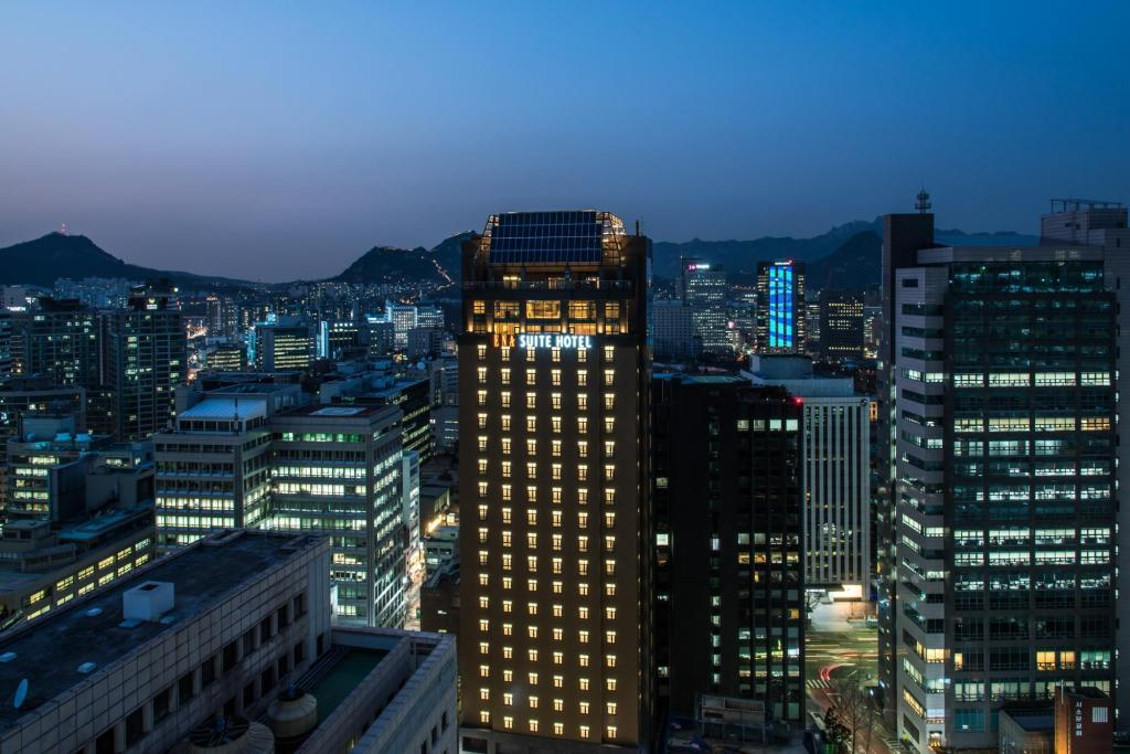 ENA Suite Hotel Namdaemun Szöul 73c0597a52