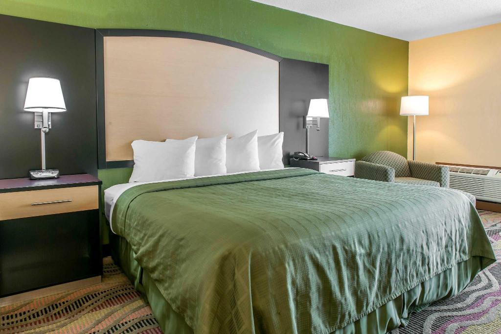 Suite with 1 King bed and Sofabed - No Smoking, No Pets - Guestroom Quality Inn Conference Center