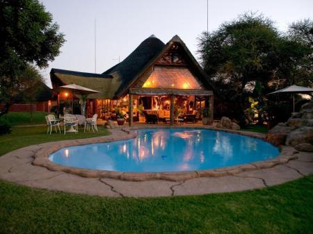 Swimming pool Ditholo Game Lodge