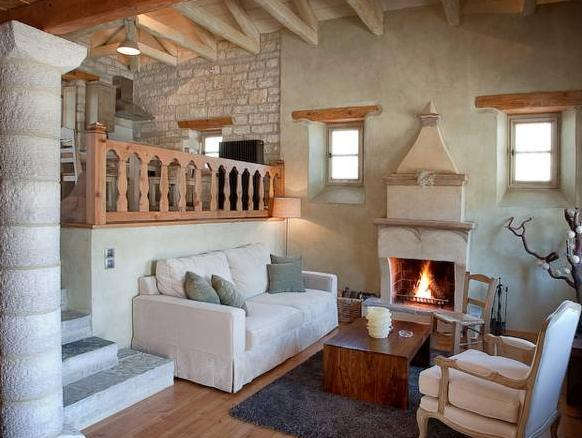 Family Villa (2 Adults+2 Children) and Fireplace