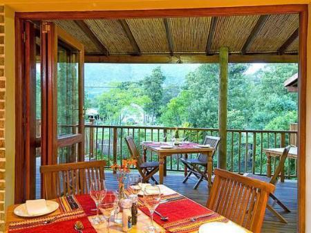Balcony/terrace At the Woods Guest House