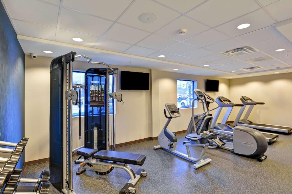 Gimnasio Home2 SuitesBy HiltonDickson City