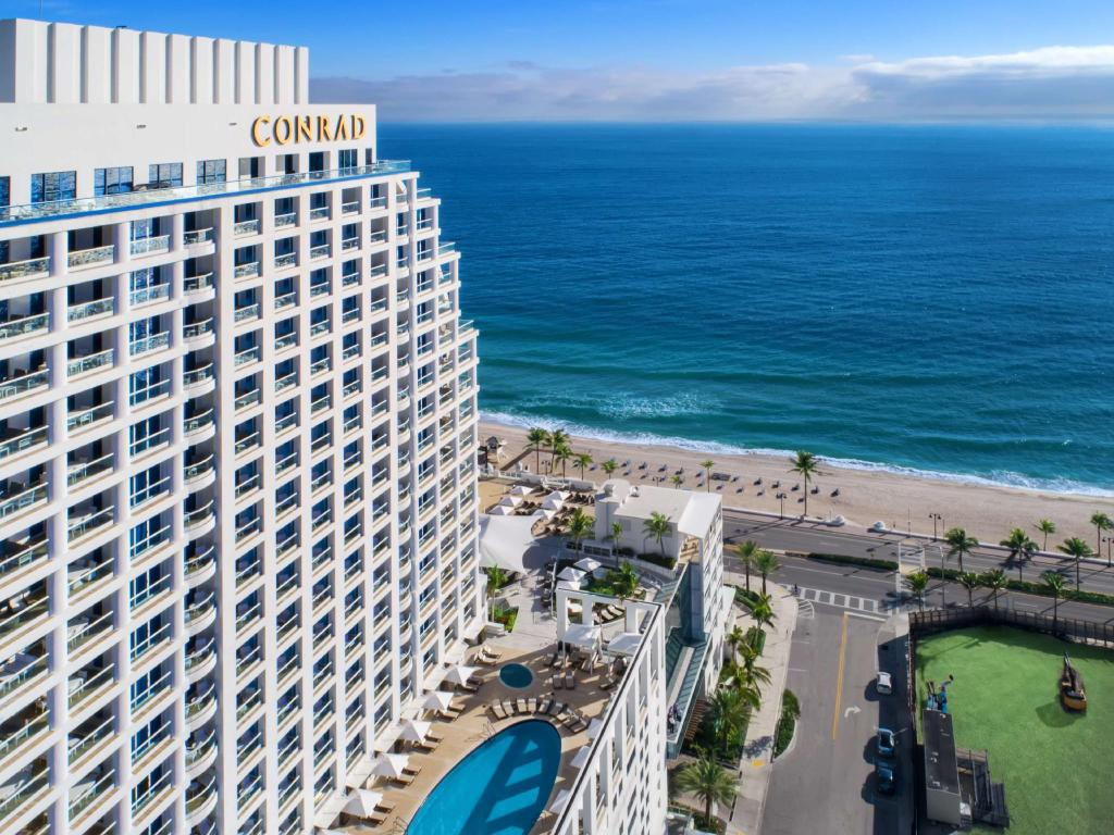 Exterior view Conrad FortLauderdale Beach