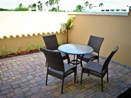 Balcony/terrace Gold Coast Aruba Vacation Rentals