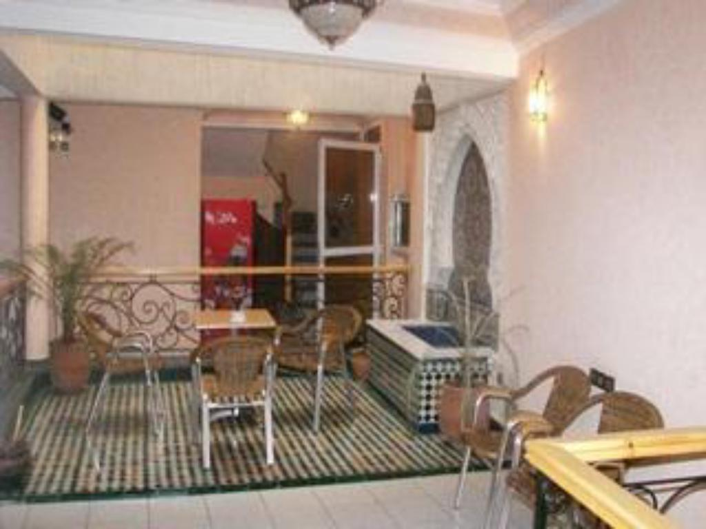 Vista Interior Hotel Bab Boujloud