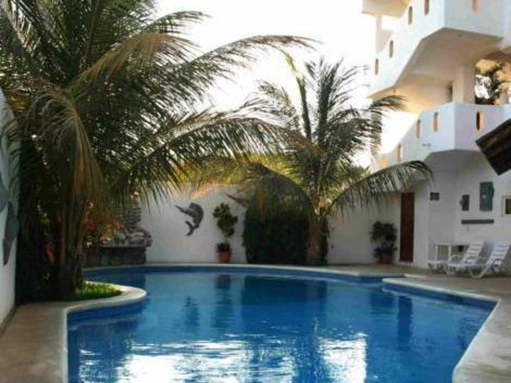 Swimming pool Hotel Bahia Huatulco