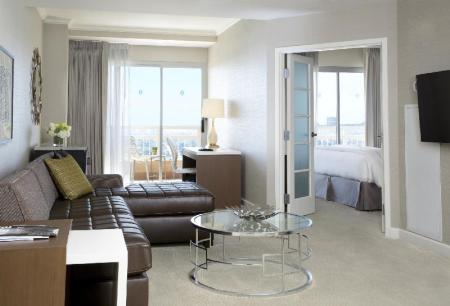 One Bedroom Premier Suite - חדר שינה InterContinental Los Angeles Century City at Beverly Hills