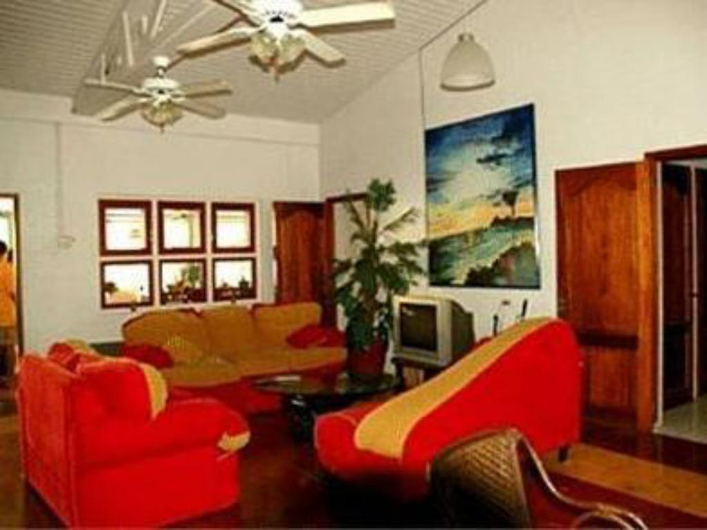 Interior view Caribbean Club Bonaire
