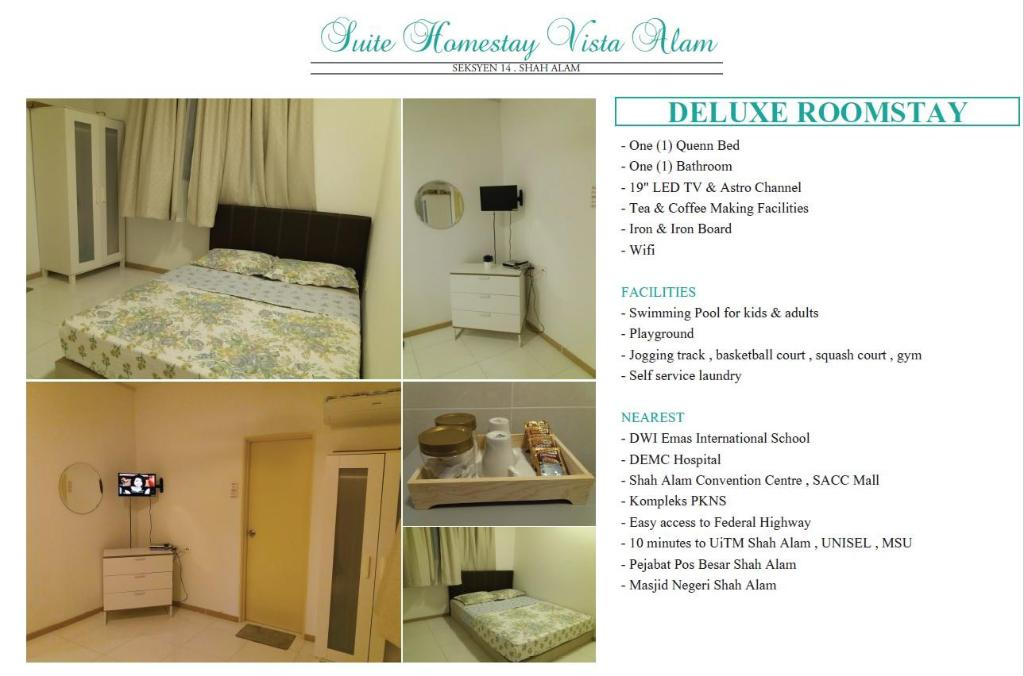 Deluxe Roomstay Vista Alam