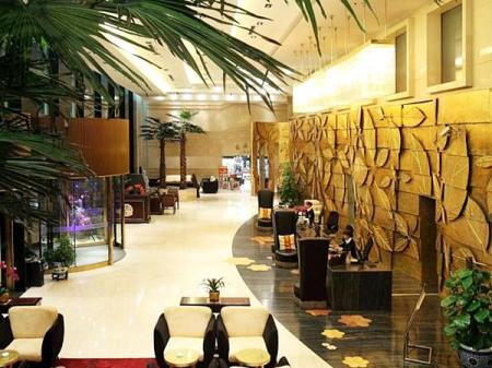 Lobby Free Comfort Holiday Hotel Beijing South Xueyuan Road