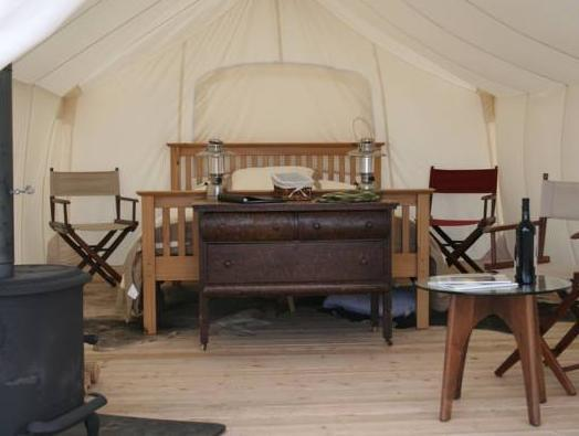 Deluxe Tent with Private Bathroom