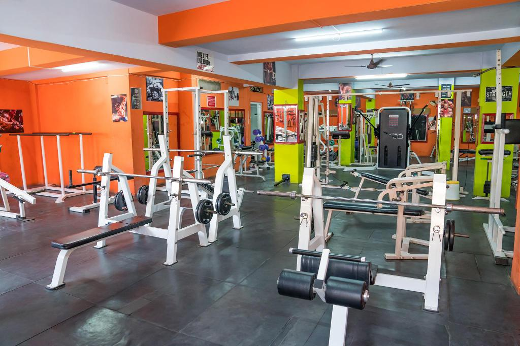 Fitness center Hotel Chanma International