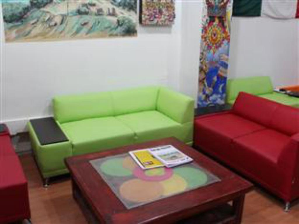 Interior view Hostel Amigo