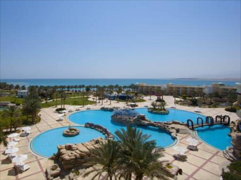 Club Double or Twin Room with Pool and Sea View - Pool Sentido Palm Royale Soma Bay