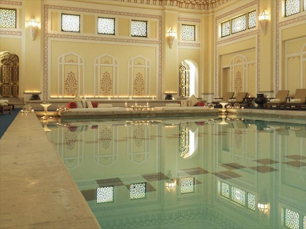 Swimming pool Rambagh Palace Hotel