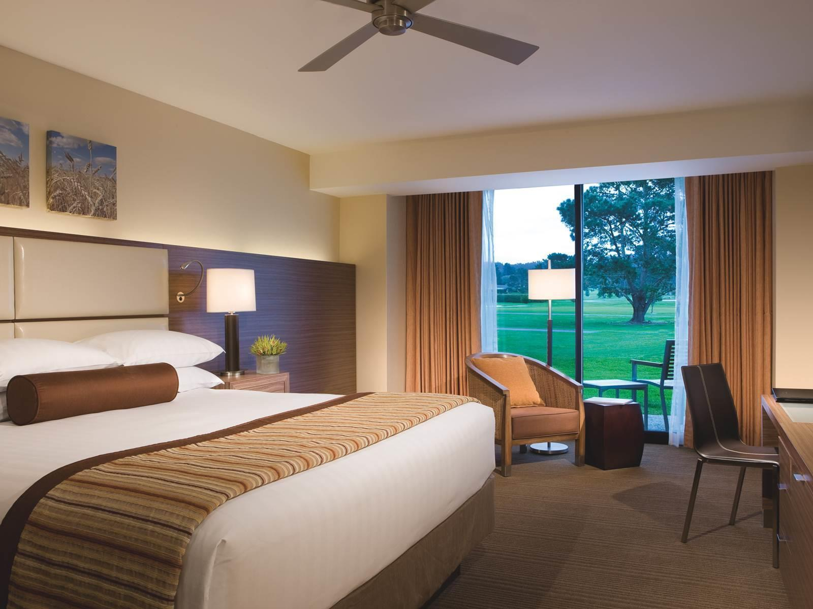 King Room with Balcony and Golf Course View