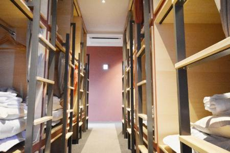 Capsule - Female Only - Bedroom Hostel Spica