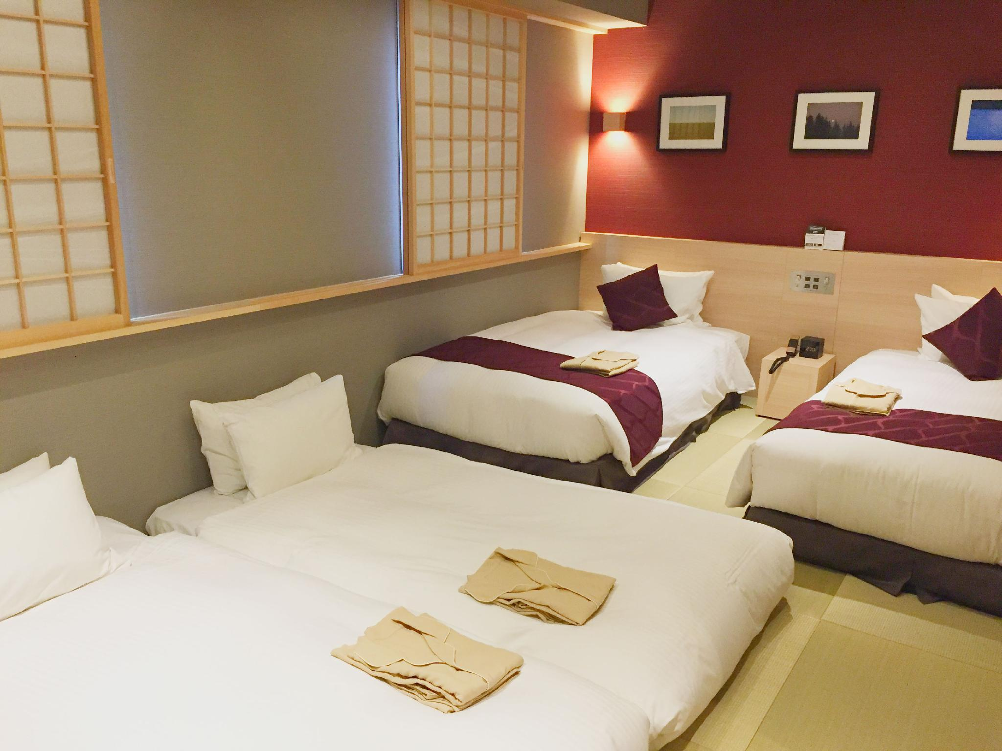 和室 2シングルベッド(禁煙) (2 Single Beds, Non-Smoking, Two Futon Beds, Japanese Style Room)