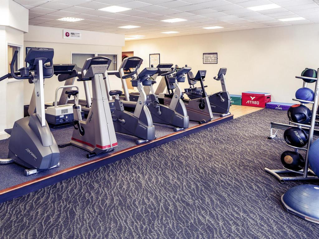 Fitness center Mercure Maidstone Great Danes Hotel