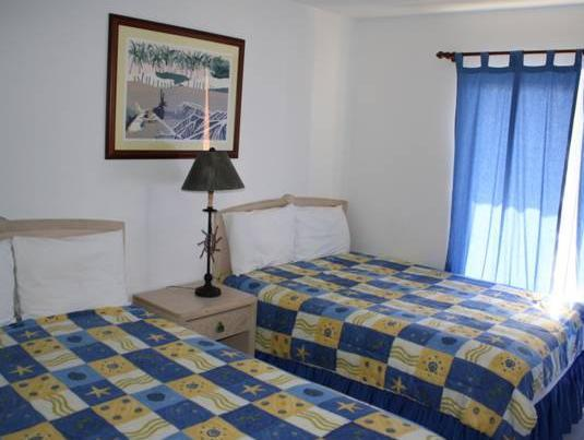 Double Room with Two Double Beds with Partial Ocean View