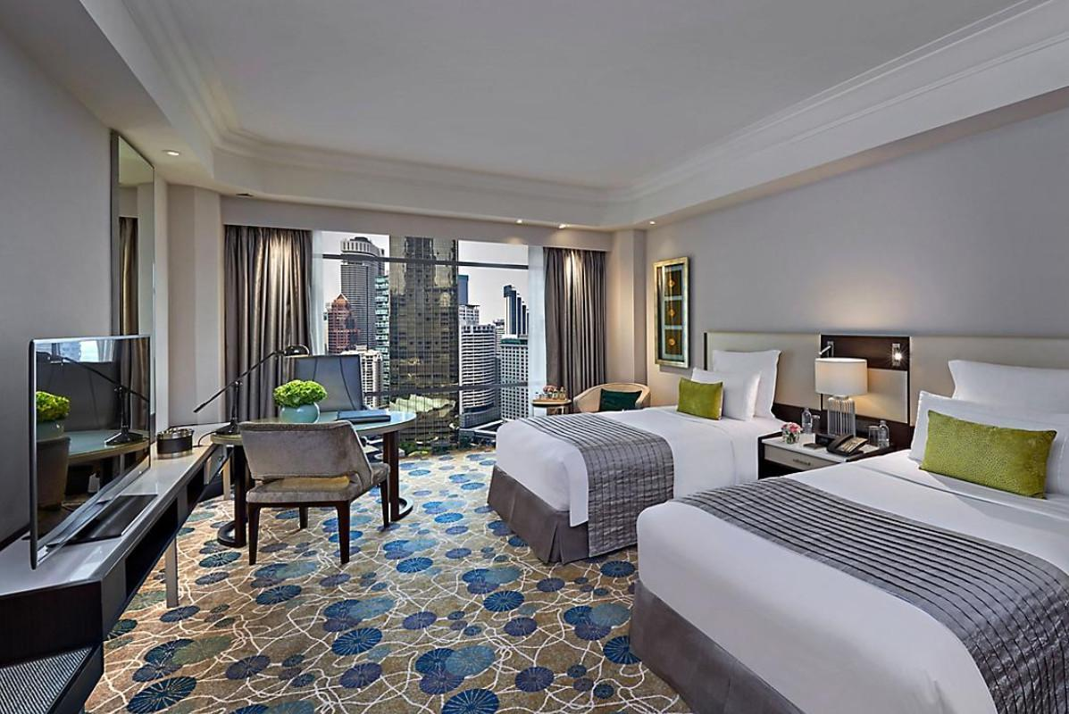 Deluxe City View Room Twin