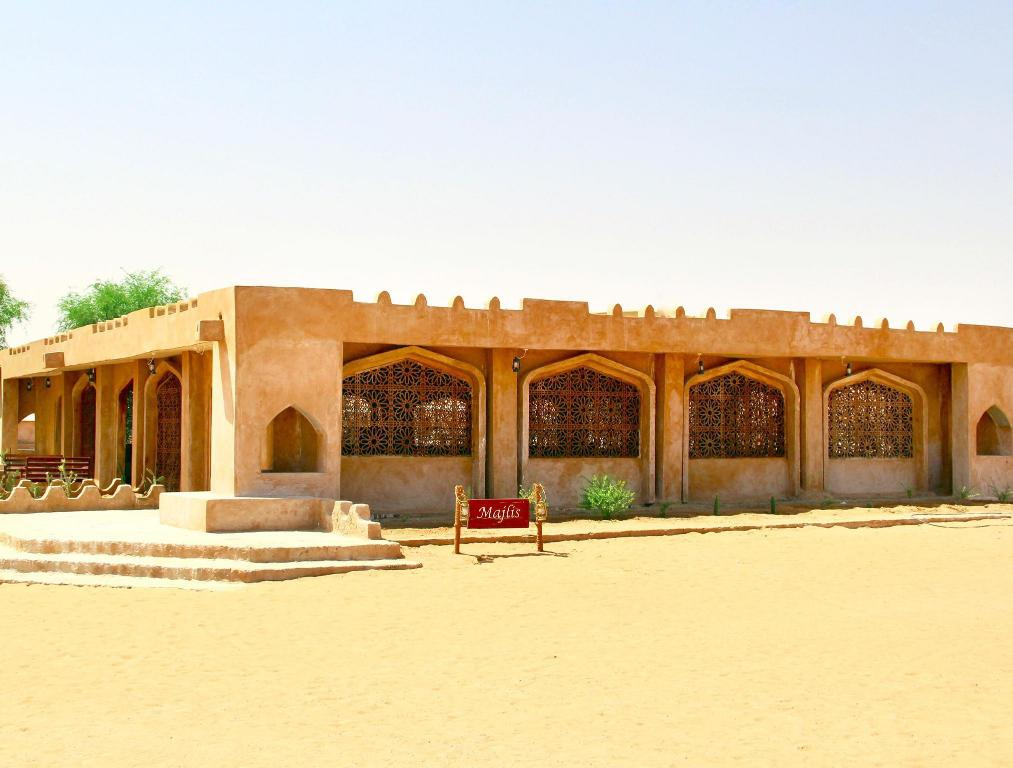 Лоби Arabian Oryx Camp