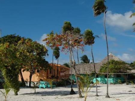 Exterior view Blackbird Caye Resort