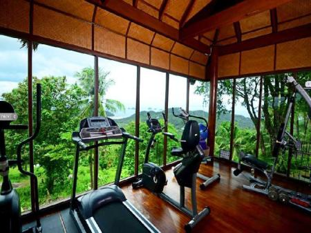 Fitness center Samui Ridgeway Estate & Spa