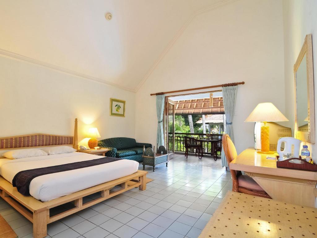 Deluxe - Gästrum Sativa Sanur Cottages Hotel