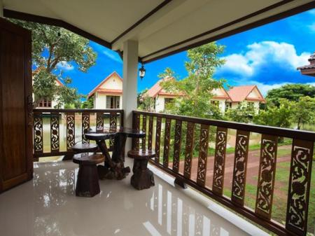 Balcony/terrace Suan Luang Garden View Resort
