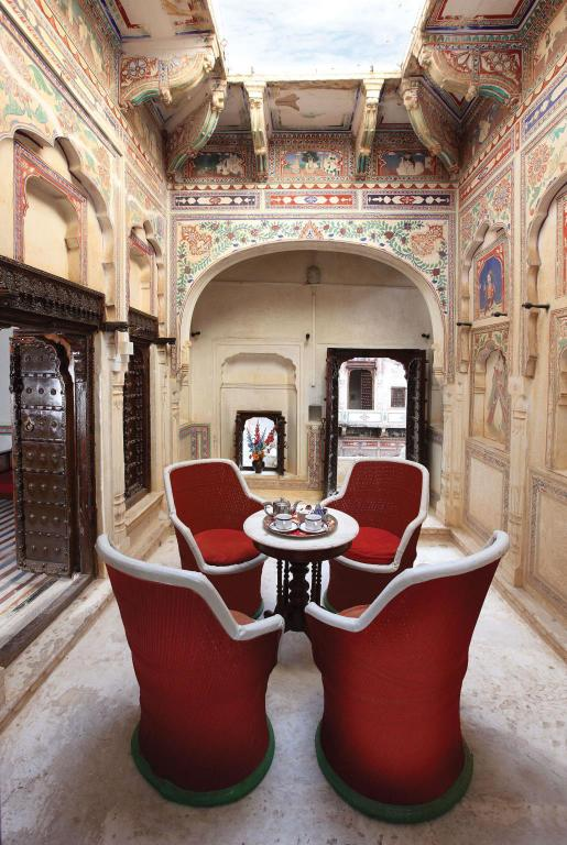 Interior view Hotel Mandawa Haveli
