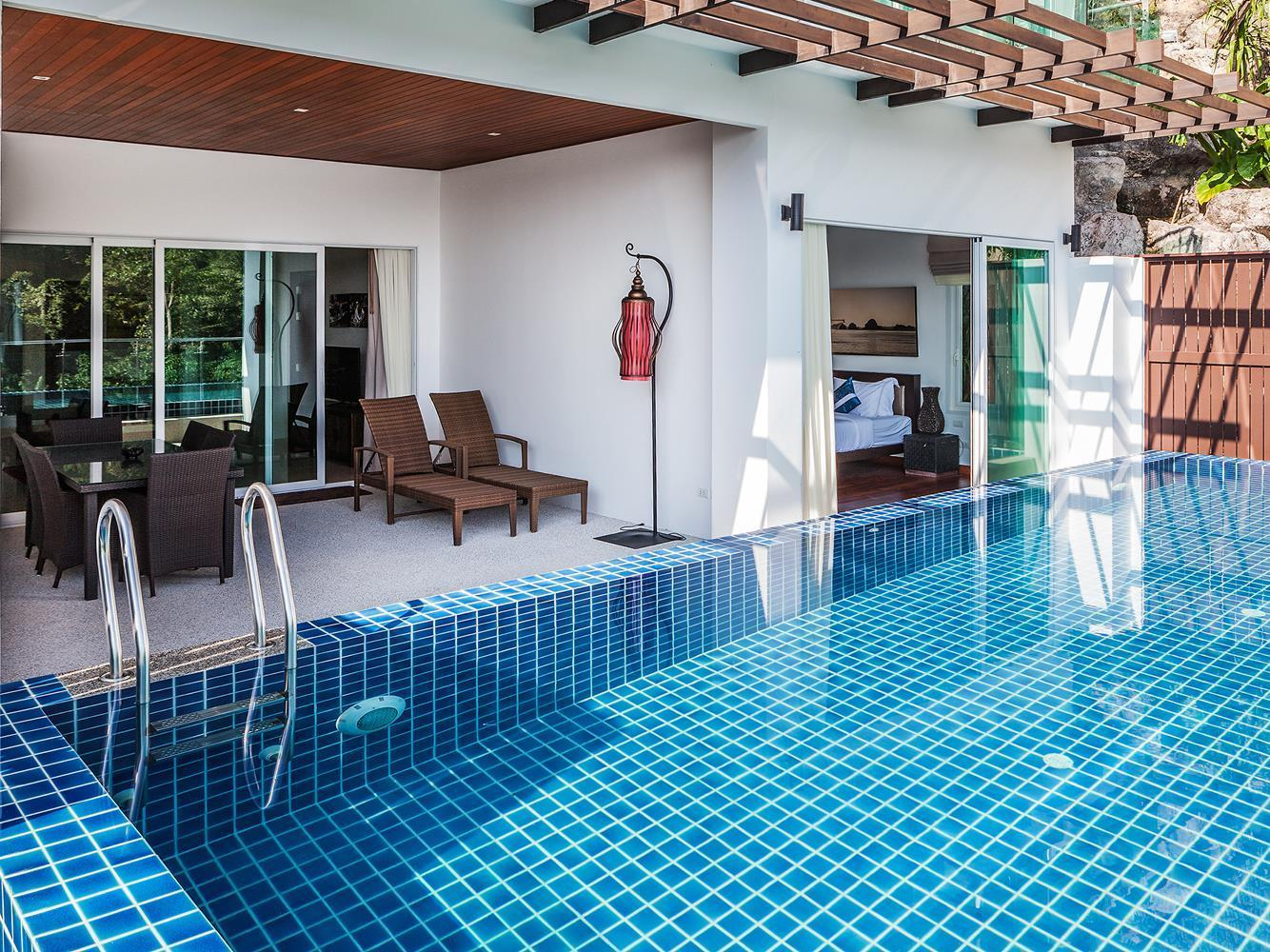 Three-Bedroom Luxury Seaview Pool Villa